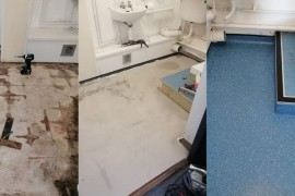 Water Damage in Floors