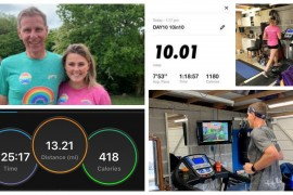 10 in 10 charity challenge fundraiser